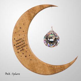 Large Personalised Moon Image